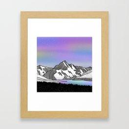 Aoraki Mount Cook Framed Art Print