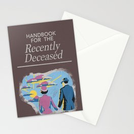 Handbook For the Recently Deceased Stationery Cards