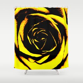 Yellow Rose : Pretty Flowers Shower Curtain