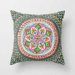 All that glitters is gold ... Throw Pillow