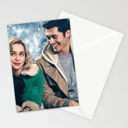 Last Christmas 2019 poster promotional materials Christmas comedy Emilia Clarke Henry Golding Stationery Cards