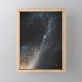 Starbursts in Virgo - The Beautiful Universe Framed Mini Art Print