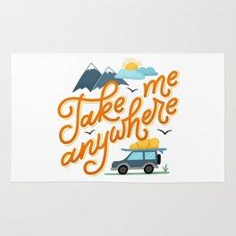 Take me anywhere Rug