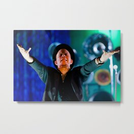 Tom Waits - Pagan Priest Metal Print