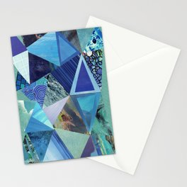Collage - So Blue Stationery Cards