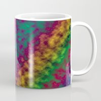 tie dye Mugs featuring Tie Dye by Kings in Plaid