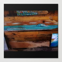 Peace of Wood Canvas Print