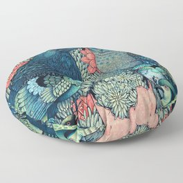 Cosmic Egg Floor Pillow
