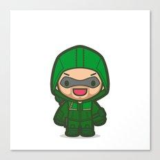 Green Archer Canvas Print