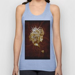 The Crowned Unisex Tank Top