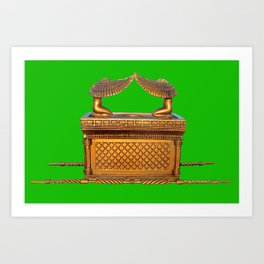 Ark of the Covenant Art Print