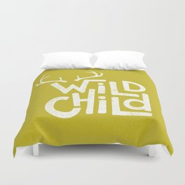WILD CHILD Duvet Cover