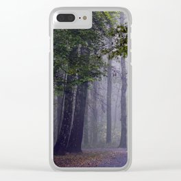 MISTY DAY Clear iPhone Case