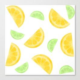 Citrus Circus Canvas Print