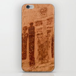 Great Gallery Holy Ghost Pictograph - Canyonlands National Park iPhone Skin