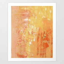 Branched Out Autumn Art Print