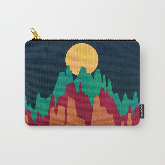 Rocky Landscape Carry-All Pouch