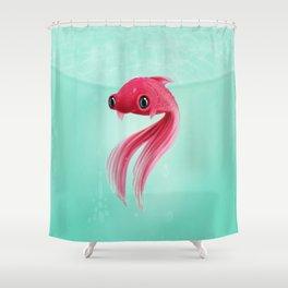 Little Fish Coy Koi Shower Curtain