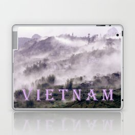 FOGGY FOREST in the VIETNAMESE MOUNTAIN Laptop & iPad Skin