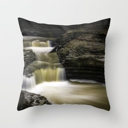 Tranquil World Throw Pillow