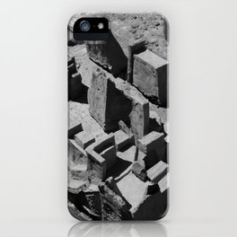 The Clay Labyrinth Ruins iPhone Case