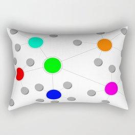 Network Rectangular Pillow