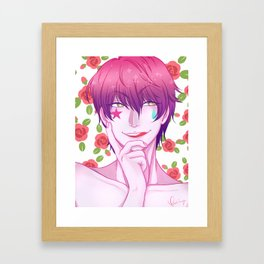 Hisoka: Eat Your Heart Out Framed Art Print