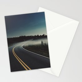 Midnight Mist Stationery Cards