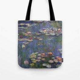 Water Lilies (Nymphéas), c.1916 Art, Monet Tote Bag