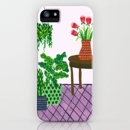 Potted plant IV iPhone Case