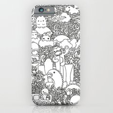 Oodles of Doodles of Singapore (White) iPhone 6s Slim Case