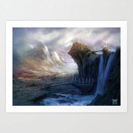 Gates to Erindor Art Print