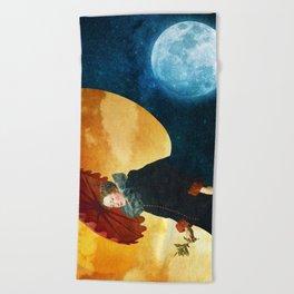 Queen of the Night Beach Towel