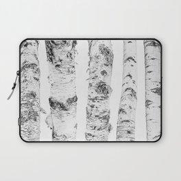 Birch Trees | Forest Landscape Photography Minimalism Laptop Sleeve