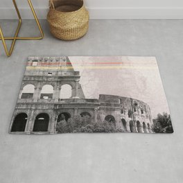 Colosseum Rome Italy Rug
