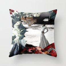 THE WAKE Throw Pillow