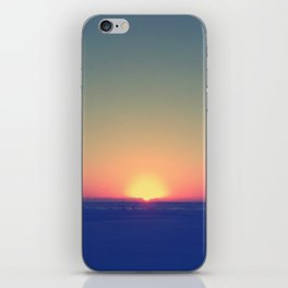 Distant Sunset iPhone Skin