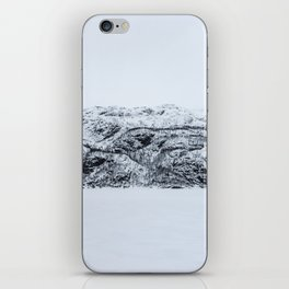 Blinded by the Norwegian snow iPhone Skin