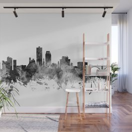 Knoxville Tennessee Skyline Wall Mural