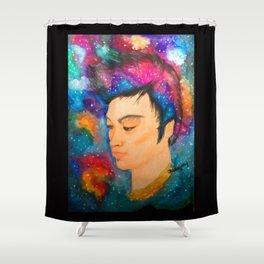 Galaxy Boy Shower Curtain