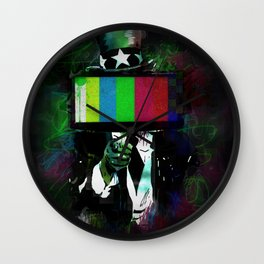 Uncle Brainwash Wall Clock