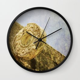 Chichen Itza Football game Wall Clock