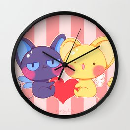 fanart Cardcaptor sakura Valentine's Special Wall Clock