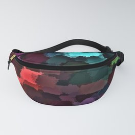 abstract colored background Fanny Pack