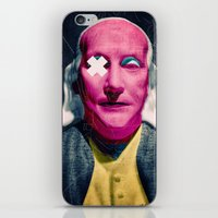 frank iPhone & iPod Skins featuring Frank by Alec Goss