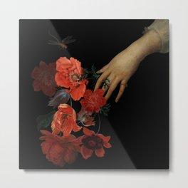 Jan Davidsz. de Heem Hand Holding Bouquet Of Flowers  Metal Print