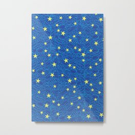 Twinkle in the Elements Metal Print