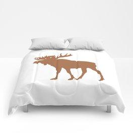 Moose: Brown Comforters
