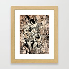 Strange Love Framed Art Print