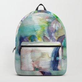 WATERCOLOR HORSE .2 Backpack